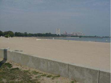 The 63rd Street Beach, Chicago, IL