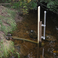 Crest-Stage Streamgage Network in Michigan