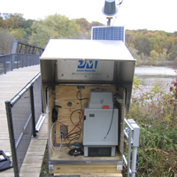 Water-Quality Monitor Network in Michigan