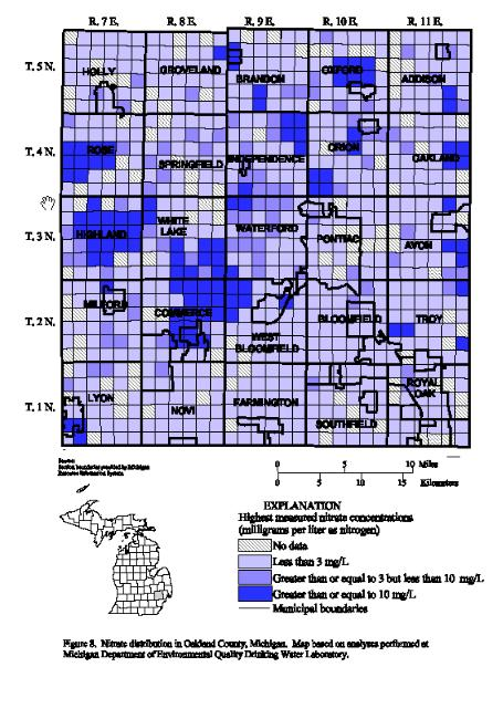 Ground Water Quality Atlas Of Oakland County Michigan 2000
